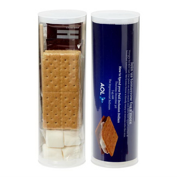 Small S'mores Kit With Cracker Sheets, Marshmallows, Chocolate Bars And More Photo