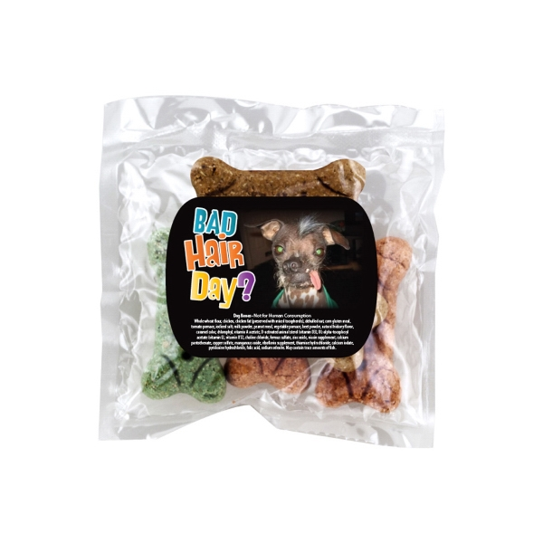 Dog Bone Bandits - Dog Bones And Snacks In Promotional Pack. Promo Pack With Dog Bones Photo