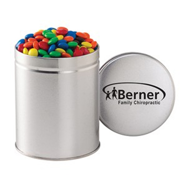 Quart Round Tin / M&Ms®