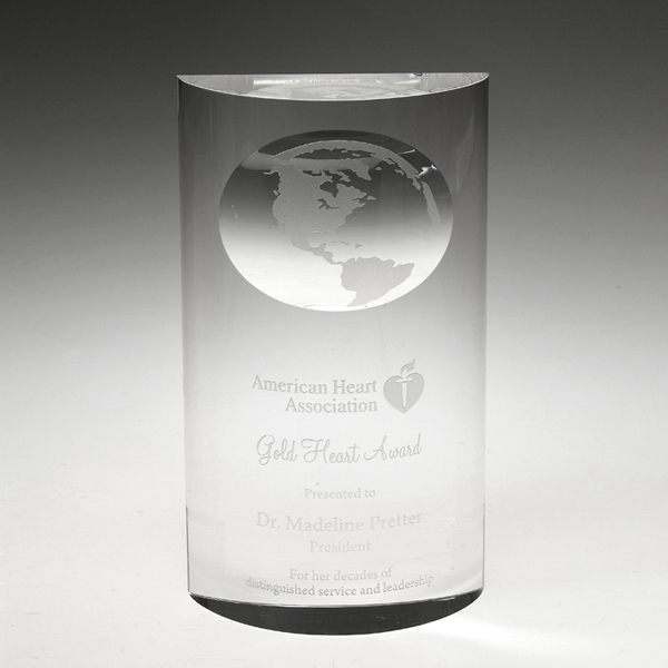 "Award-Mirage Globe 7"""