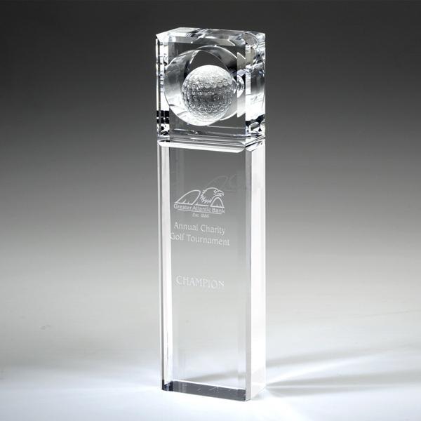 "Award-Absolute Golf Trophy 10"""