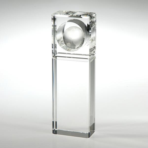 "Award-Absolute Globe Trophy 10"""
