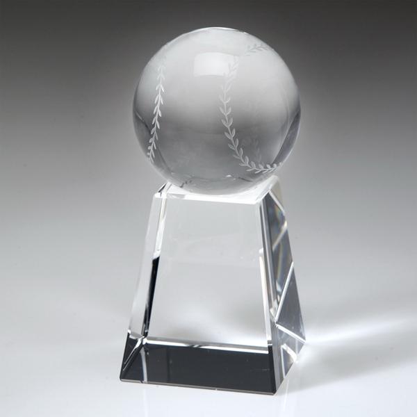 """Award-Baseball w/ Tall Base 5"""""""