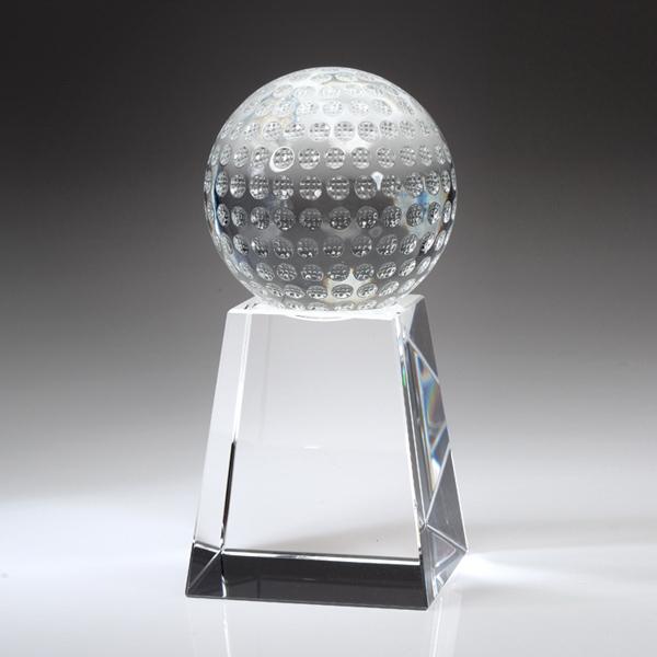 """Award-Golf Ball w/ Tall Base 6 1/2"""""""
