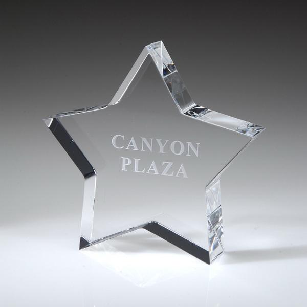 Award-Star Paperweight