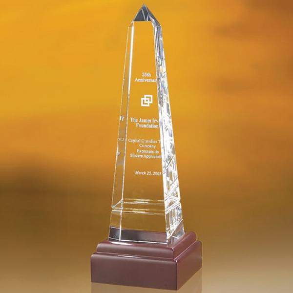 """Bally Grooved Obelisk Award  10"""""""