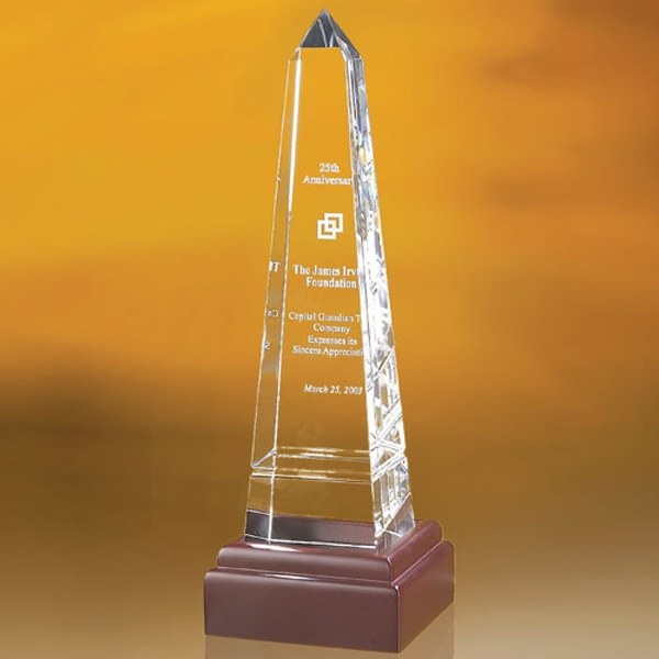 """Bally Grooved Obelisk Award  12"""""""