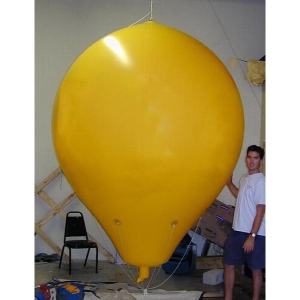 Balloon - Hot air shape balloon, 8'.  Advertising Inflatables.