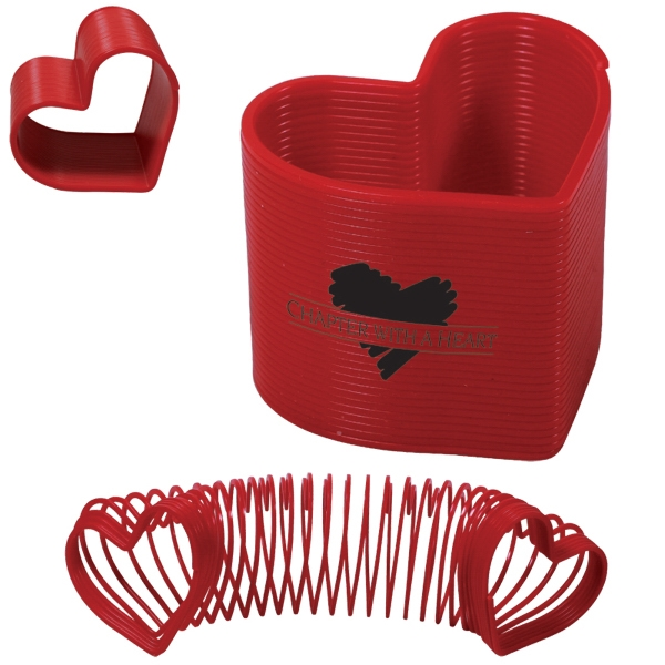 Spring Thing - Heart Shaped Coiled Spring Toy Photo