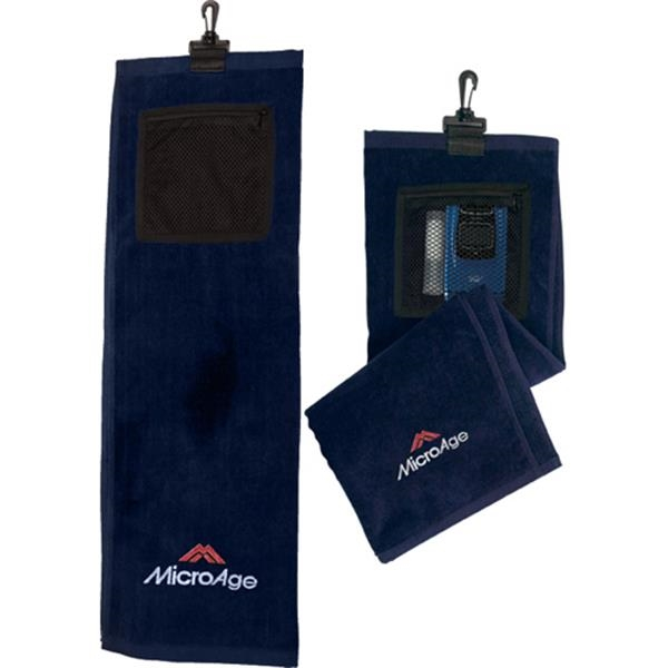 Multi-purpose Bi-fold Golf Towel Photo