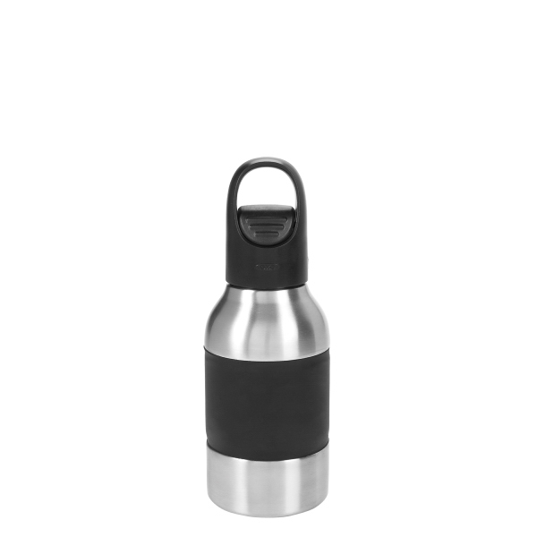 12 Oz. Stainless Steel Push Top Bottle