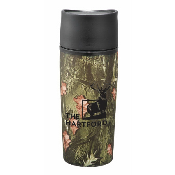Hunt Valley (tm) - Tumbler With Push Button Lid, 12 Oz Photo