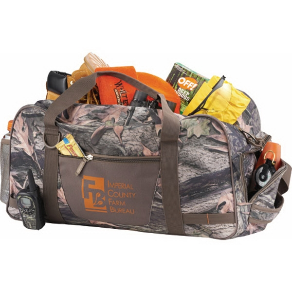 "Hunt Valley (tm) - Camo 22"" Duffel With Side Zippered Pockets Photo"