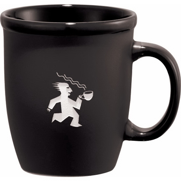 Cafe Au Lait - Ceramic Mug With Regal Matte Finish, 13 Oz Photo