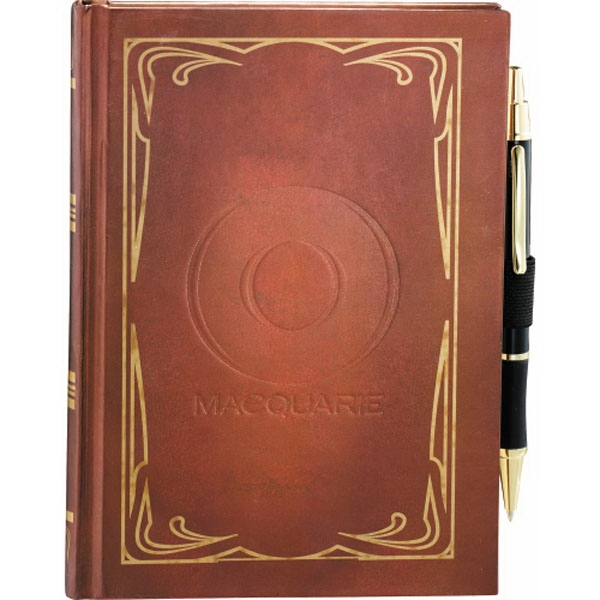 Journalbooks (r) - Classic Journal Book With Ornate Decorative Border Photo