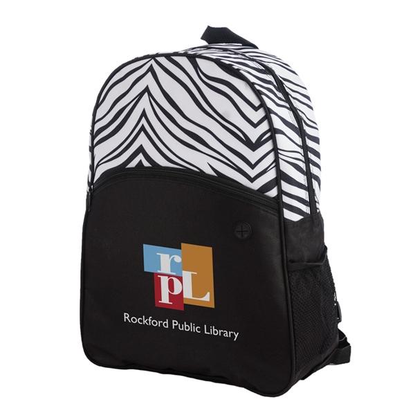 Sahara Zebra Print Backpack-IMP