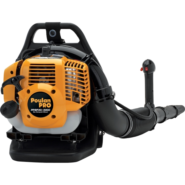 30cc 2-Stroke Gas Powered 180 mph Backpack Blower