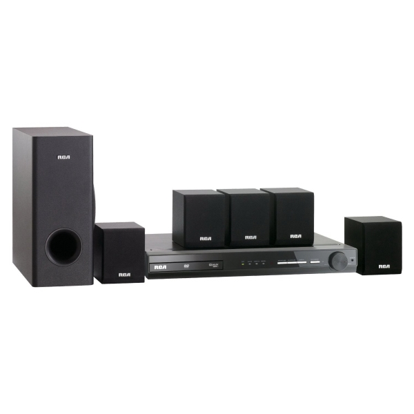 100 Watt 5.1 Channel Home Theater System w/DVD Player