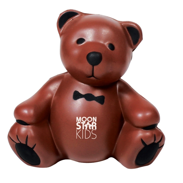 Teddy Bear Shaped Stress Reliever Photo