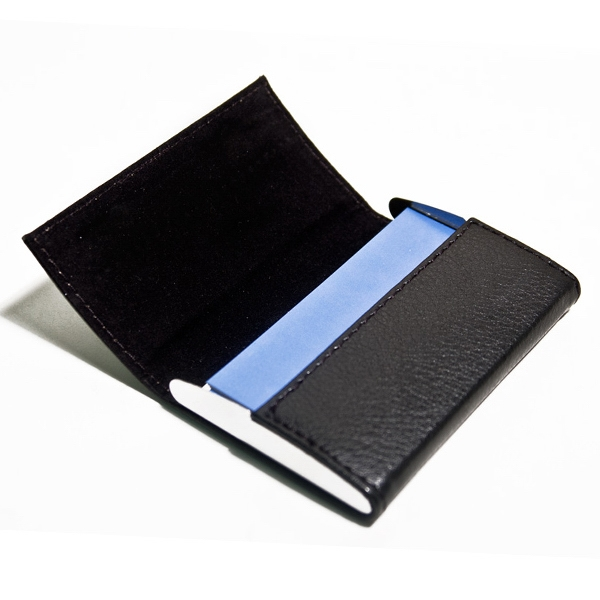 Leatherette Business Card Holder Photo