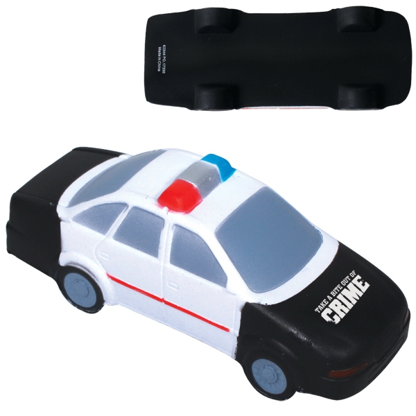 Handcrafted Polyurethane Police Car Stress Reliever Photo