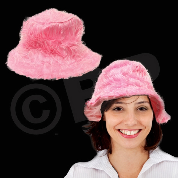 Pink Lush Plush Novelty Hat