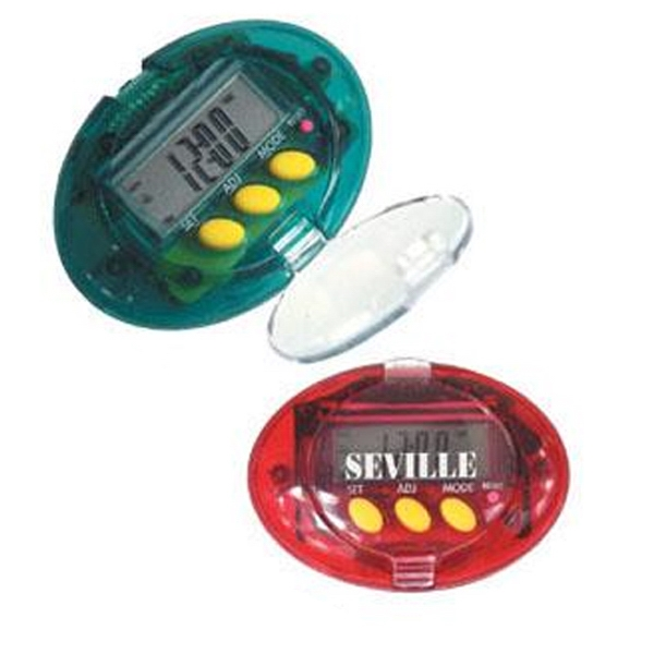 5-in-1 Electronic Step Counter Pedometer Photo