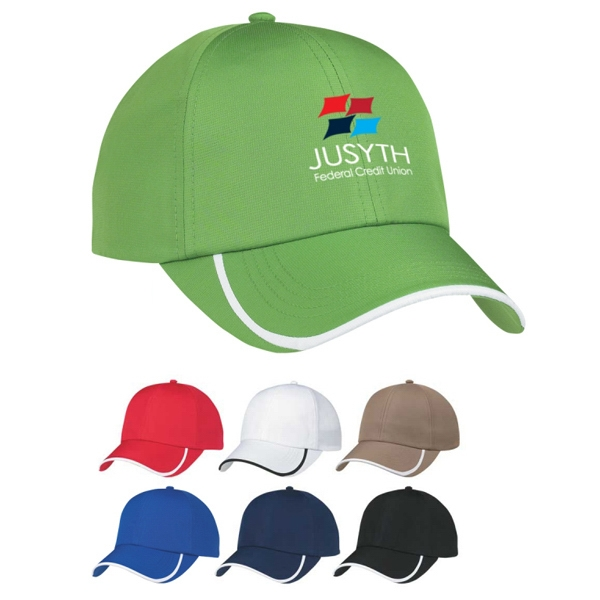 Custom 100% Polyester Dry Cap With Velcro Closure Photo