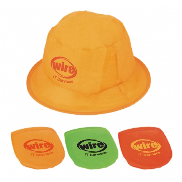 Foldable Fishing Hat Made Of 170t Polyester Photo