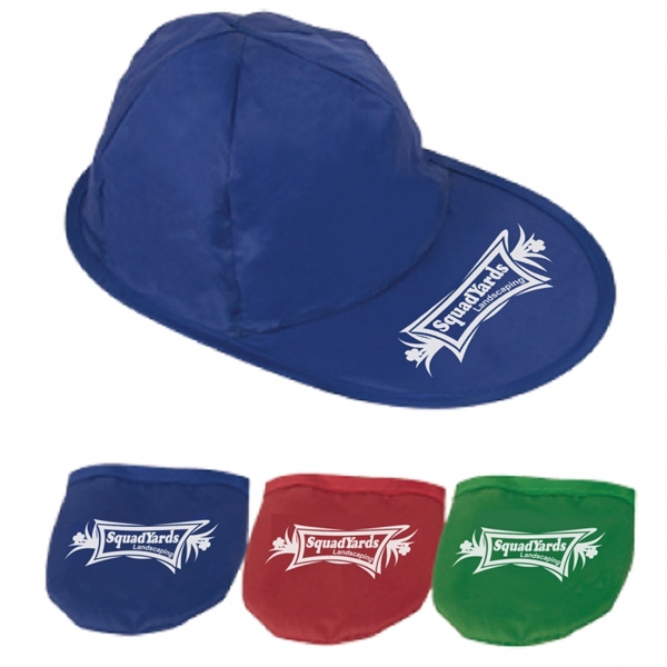 Foldable Baseball Hat Made Of 170t Polyester Photo