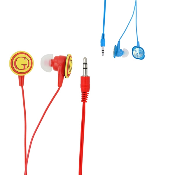 3d Logo Pvc Label Earbuds Photo