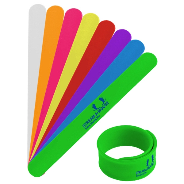Silicone Slap Wristband Photo