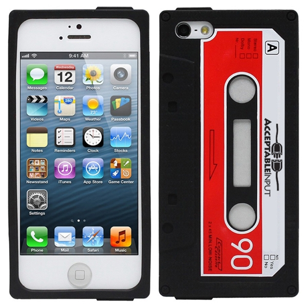 Novelty Cassette Tape Iphone Case Photo