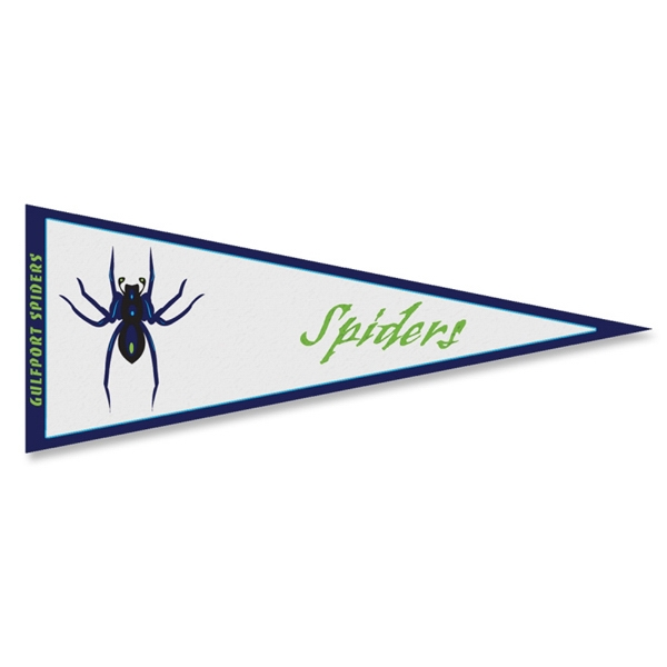 Felt Pennant Made Of 280gsm Non-woven Polypropylene Photo