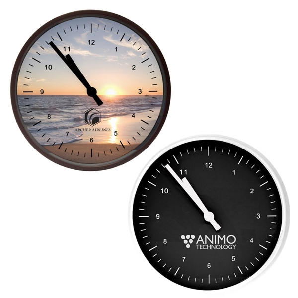 Printed - Wall Clock Photo