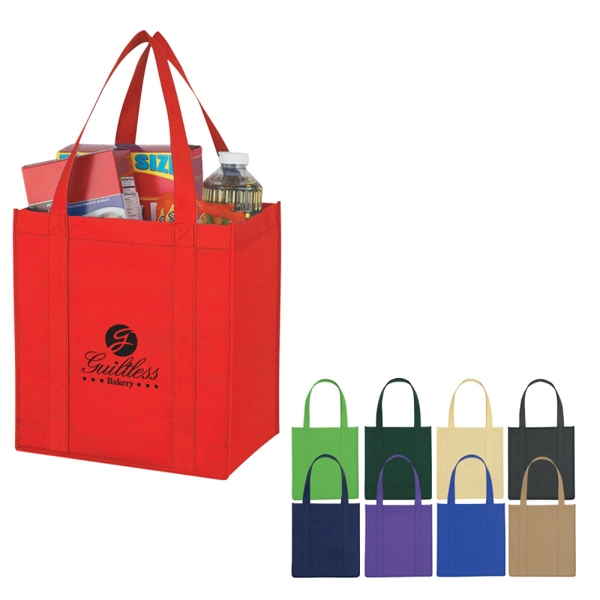 Avenue - Custom Non-woven Shopper Tote Bag Photo