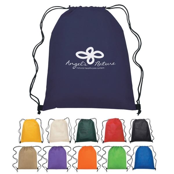 Custom Non-woven Sports Pack With Drawstring Closure Photo