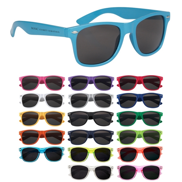 Malibu - Custom Sunglasses Made Of Polycarbonate Material Photo