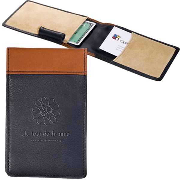 Clearance Card Case With Jotter. While Supplies Last. Closeout Photo
