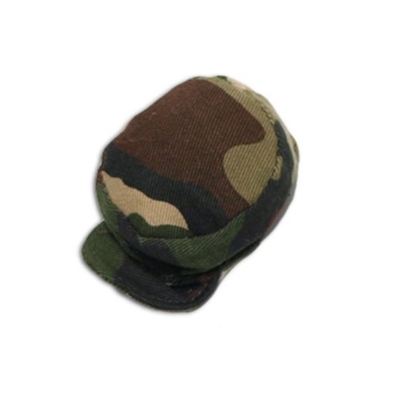 """8"""" Black/Green Camo Cap"""
