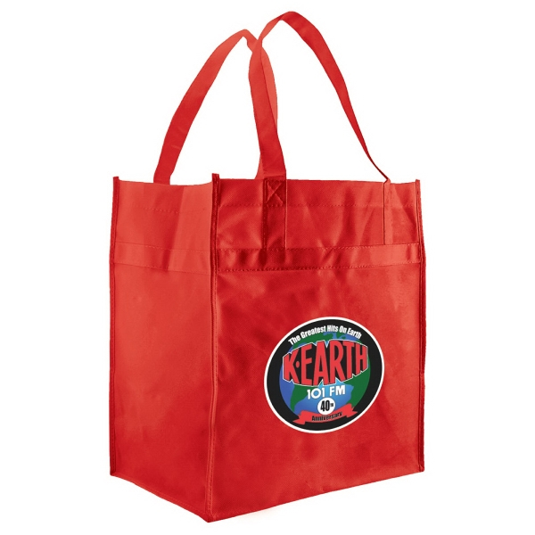 Enviro Sacks (tm) - Non-woven Polypropylene Economy Grocery Tote Photo