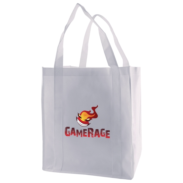 "Enviro Sacks (tm) - Reusable Polypropylene Non-woven Grocery Tote, Size 12"" X 8"" X 13"" X 8"" Photo"