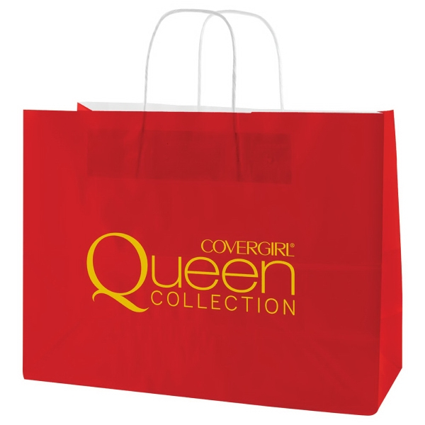 "Enviro Sacks (tm) - 8"" X 10.5"" - Gloss Coated Shopping Bag With Handles Photo"