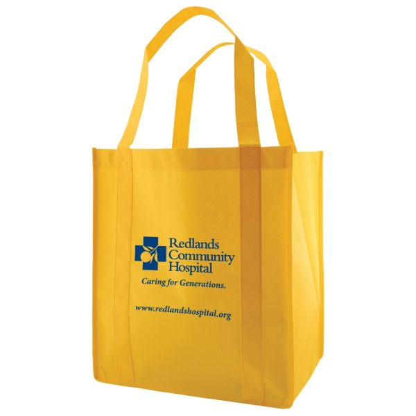 "Enviro Sacks (tm) - Polypropylene Non-woven Grocery Bag, Size 13"" X 10"" X 15"" X 10"" Photo"