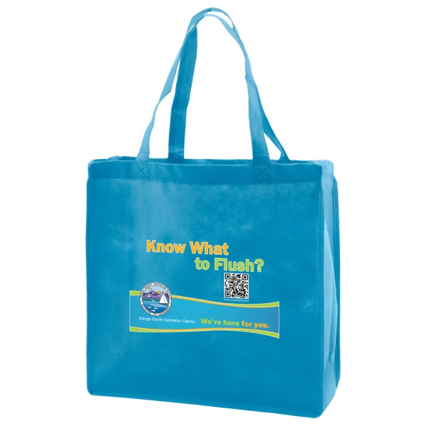 "Enviro Sacks (tm) - Polypropylene Non-woven Tote Bag, 13"" X 5"" X 13"" X 5"" Photo"