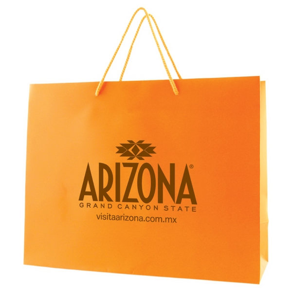 "Matte Laminated Eurotote With Handles, Size 13"" X 5"" X 10"" Photo"