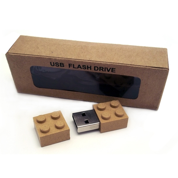 1gb - Eco Friendly Plastic Building Block Usb Drive Photo
