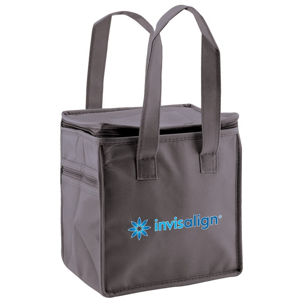 Enviro Sacks (tm) - Reusable, Polypropylene Lunch Tote With Side Zip Pocket Photo