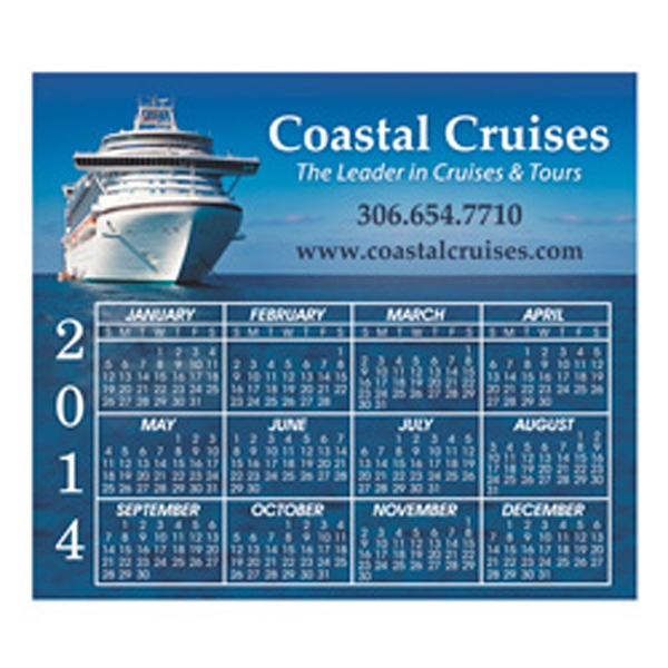 "Calendar Magnet, 3 13/32"" X 3 29/32"" Photo"