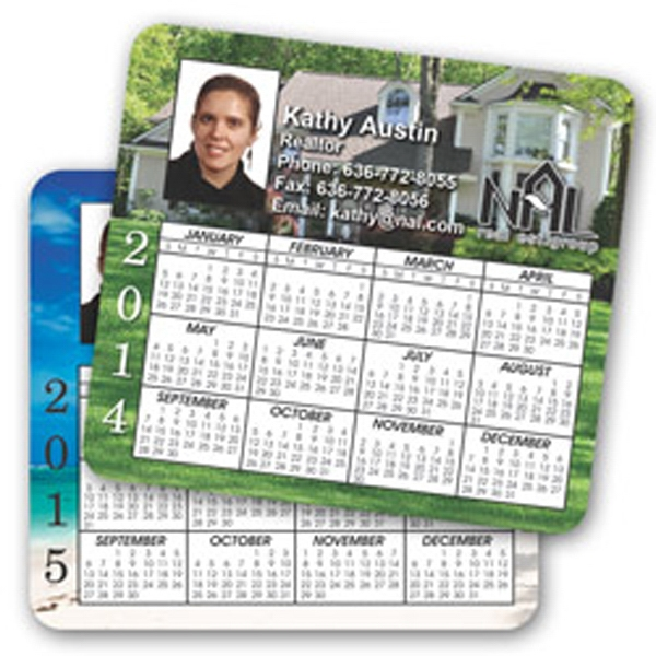 Double Sided Calendar Magnet, One Magnet Twice The Exposure Photo